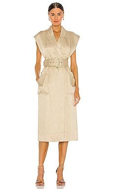 Marie Blazer Midi Dress Shona Joy $380 BEST SELLER