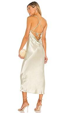 Cowl Back Bias Midi Dress Shona Joy $295 Sustainable