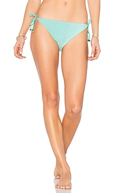 Triangle Bikini Bottom in Seafoam