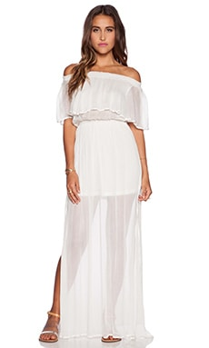 Show Me Your Mumu Hacienda Dress in White Cloud
