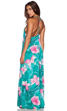Show Me Your Mumu T Rex Maxi Dress in Lei Bay