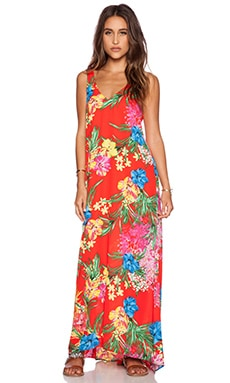 Show Me Your Mumu Kiersten Maxi Dress in Tropical Tango