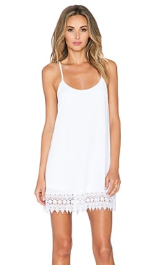 Show Me Your Mumu Reville Dress in White Crisp