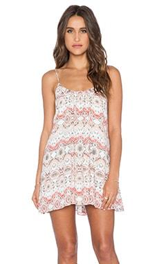 Show Me Your Mumu Trapeze Mini Dress in La Quinta