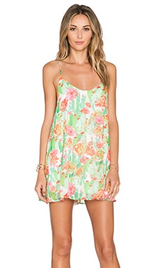 Show Me Your Mumu Circus Mini Dress in Cactus Cooler