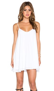 Show Me Your Mumu Circus Mini Dress in White Crisp