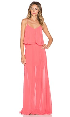 Show Me Your Mumu Charlie Crop & Princess Di Set in Light Coral Chiffon