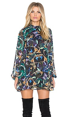 Show Me Your Mumu Junebug Bell Dress in Beautyfly