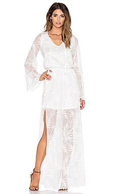 Show Me Your Mumu Juliet Maxi Dress in White