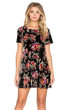 Show Me Your Mumu Em Mini Dress in Bohemian Bouquet