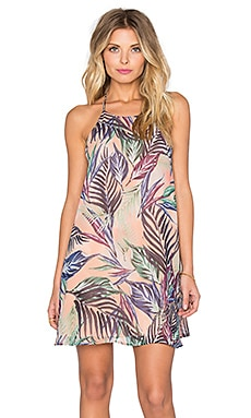 Show Me Your Mumu Gomez Mini Dress in Palm Funday