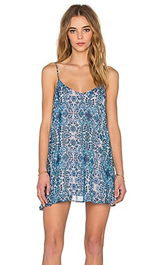 Show Me Your Mumu Circus Mini Dress in Santorini Splash