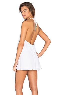 Hammock Halter Scrunch Dress