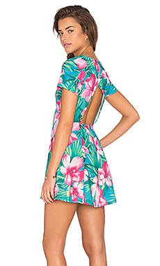 Ibiza Dress Stretch in Lady Luau
