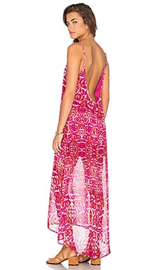 Turlington Maxi Dress in Pomegranate Punch