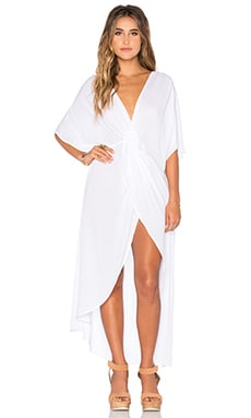 Show Me Your Mumu Get Twisted Dress in White Cloud