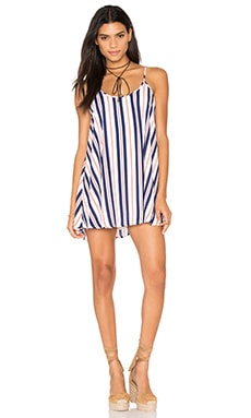 Show Me Your Mumu Bella Dress in Brigitte Stripe