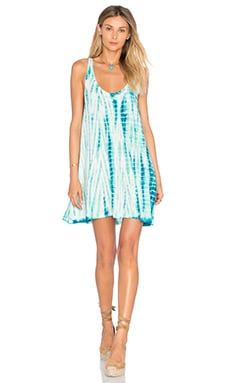 Jonny Dress en Tahiti Tie Dye