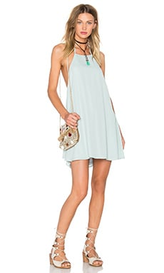 Show Me Your Mumu Katy Dress in Sea Mist Crisp