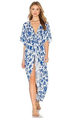 Show Me Your Mumu Get Twisted Dress in Senorita Bluebird Cloud
