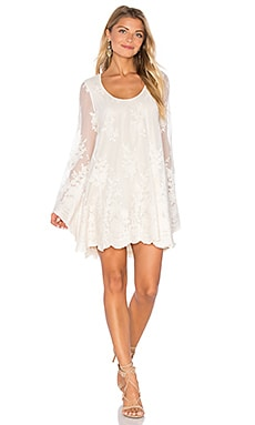 Fannie Flow Dress in Lila Lace Pear