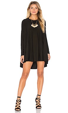 Will Tunic in Black Spandy