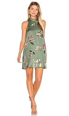 V Right Back Dress in Laura Floral