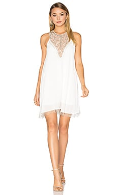 Liza Dress in Beadiful White