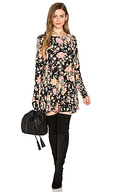 Tyler Tunic Dress in Variety Bloom Spandy