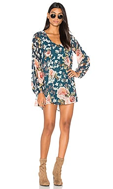 Donna Michelle Tunic Dress in Fall in Love Floral