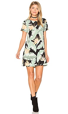 Em Mini Dress in Right in Paradise Spandy