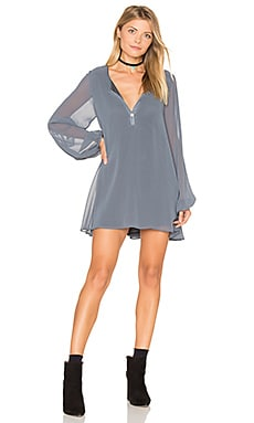 Jamie Tunic Dress in Storm Chiffon