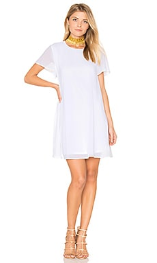 Willis Dress in White Chiffon