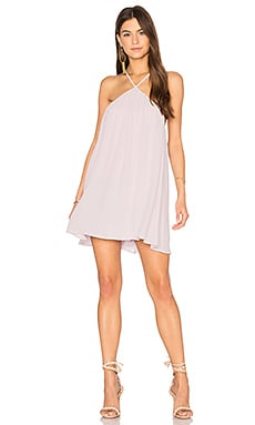 Lexington Mini Dress in Light Lavender Crisp