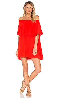 x REVOLVE Casita Mini Dress in Red Hot Chili Pepper
