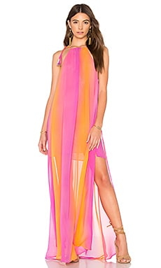 Rochester Maxi Dress in Mojave Sunset