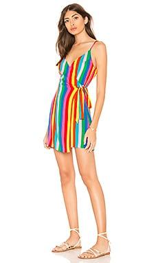Say Jay Wrap Dress Show Me Your Mumu $140