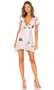 Winnie Wrap Dress Show Me Your Mumu $158