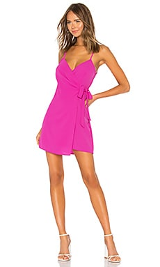 X REVOLVE Say Jay Wrap dress Show Me Your Mumu $140