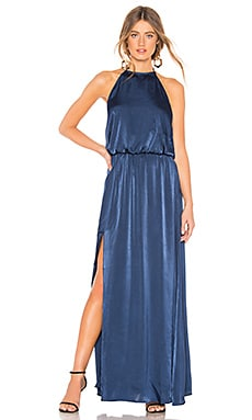 X REVOLVE Heather Halter Maxi Dress Show Me Your Mumu $109