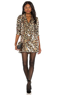 Bazel Blazer Dress Show Me Your Mumu $105