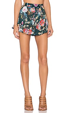 Show Me Your Mumu Carlos Swing Shorts in Rosieo & Juliet