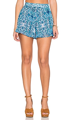 Show Me Your Mumu Carlos Swing Short in Santorini Splash