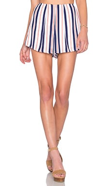 Show Me Your Mumu Sawyer Short in Brigitte Stripe