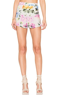 Martine Short in Bright Floral Stretch