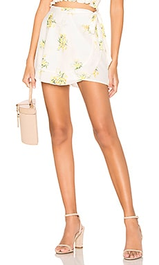 Ruffle Wrap Shorts Show Me Your Mumu $61
