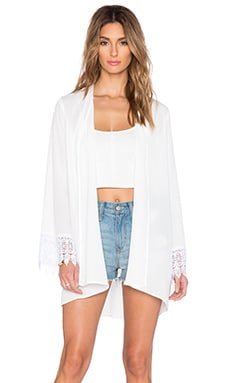 Show Me Your Mumu Honey Mumu Kimono in Ivory