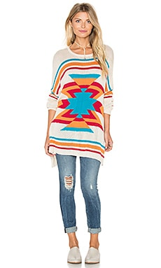 Show Me Your Mumu Bonfire Sweater in Todos Santos