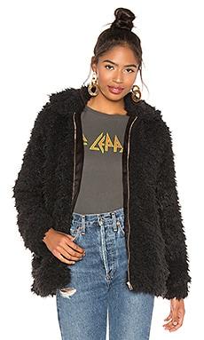 Sheldon Faux Fur Bomber Jacket Show Me Your Mumu $176 BEST SELLER