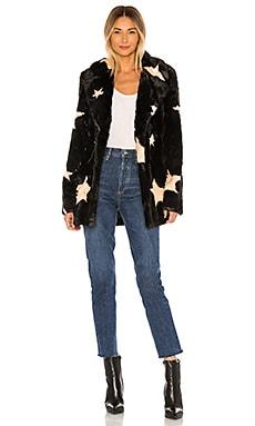 Colorado Faux Fur Jacket Show Me Your Mumu $224